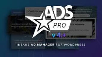 Ads Pro Plugin – Multi-Purpose WordPress Advertising Manager