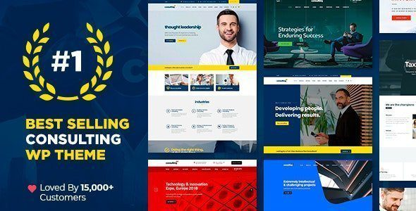 Consulting - Business, Finance WordPress T