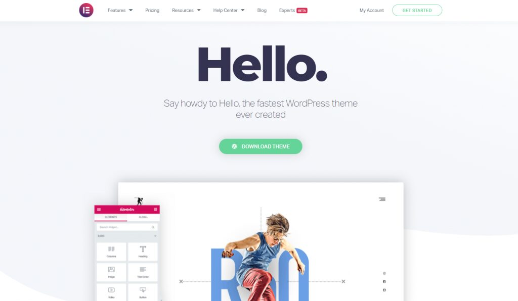 ElemetorHello - Best Responsive WordPress Themes