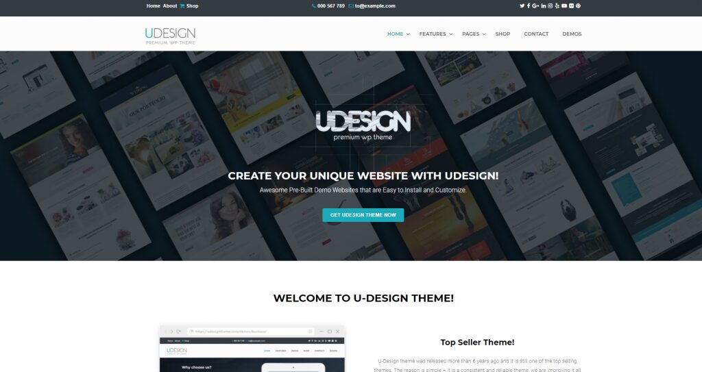Udesign Theme