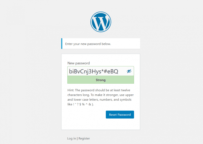 Recover a Lost Password in WordPress Page