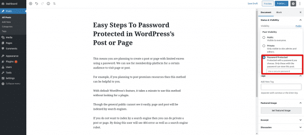 password-protected-post