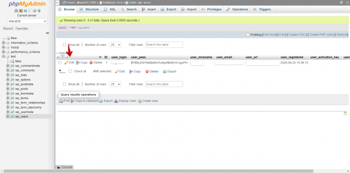 phpMyAdmin Project Page